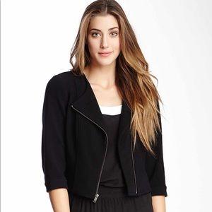 Donna Degnan Black Crop Jacket